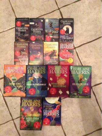 True Blood Sookie Stackhouse books by Charlaine Harris Complete collection - $50 (NWSA - GrissomTezel)