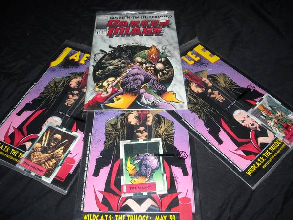 4 first issue collector comic books, unopened and sealed in original - $10 (nw san antonio)