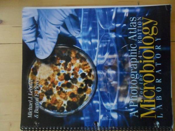 microbiology 2420 lab atlas and manual - $20 (NorthWest)