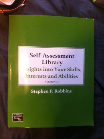 Self-Assessment Library - $15 (UTSA)