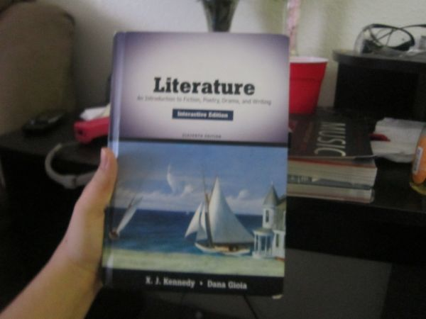 An Introduction to Fiction, Poetry, Drama, and Writing Literature Book - $30 (Universal City)