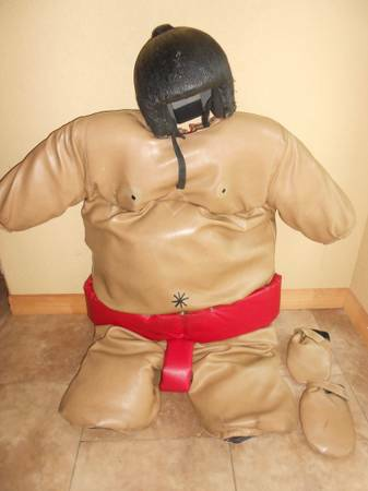 98309830 Pair of SUMO SUITS and Padded Wrestling Mat - $1500 (ph. 210..629.5141_NORTH SAN ANTONIO)