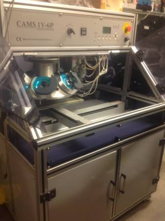 Reduced Cams 1v6p Automatic Rhinestone machine - $14000 (Northwest )