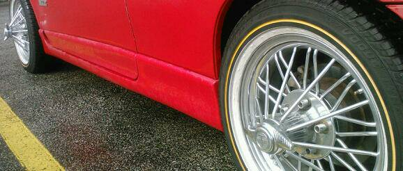 swangas 17 inch supers - $1000