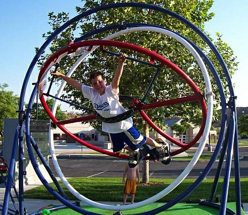 HUMAN GYRO RIDE FOR SALE (SAN ANTONIO)