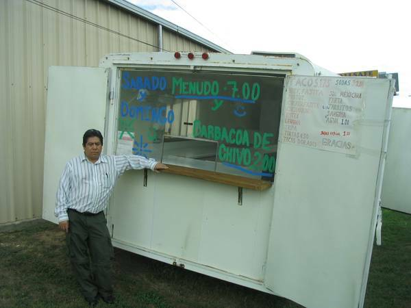 Food Concession Trailer - $10900 (Austin)