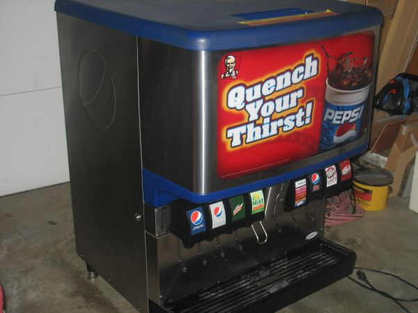 soda fountain machine - $1 (potranco)
