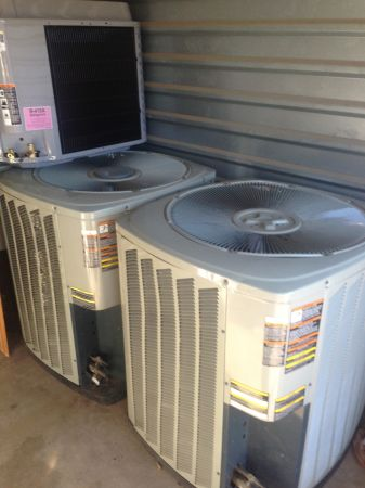 3 5 ton trane 3 phase heatpumps - $1 (Arlington)