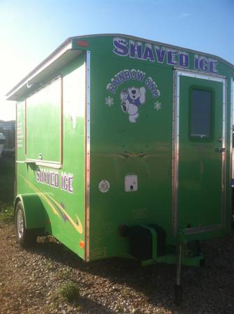 Snow-cone trailer for sale - $12500 (New braunfels Tx.)