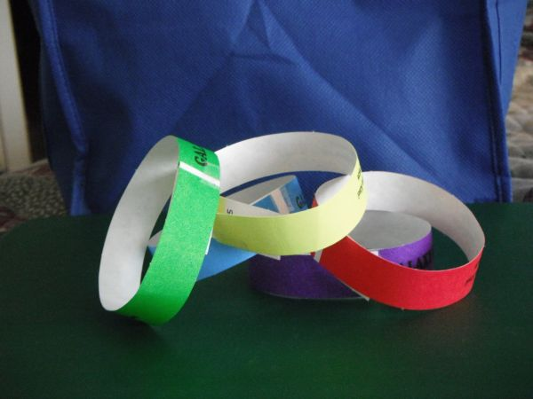 TYVEK Wristbands - $23 (Bandera and 1604 or I10 an 1604)