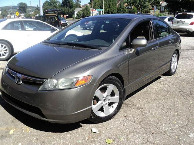 2006 Honda civic leather exterior