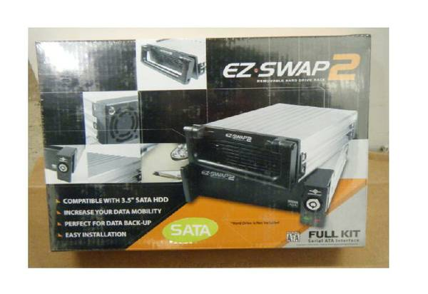 EZ Swap Removable Hard Drive Rack  - $44 (nw san antonio)