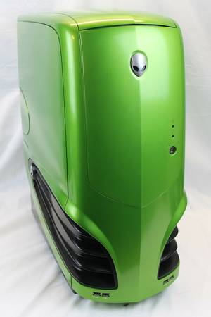 Alienware Area 51 Green Full Tower Case just the shell obo - $250 (2811604)