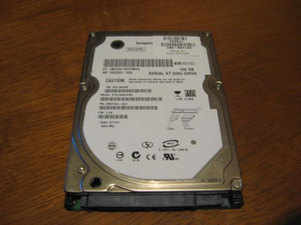 100GB Seagate Laptop Hard Drive SATA - $20 (NW San Antonio)