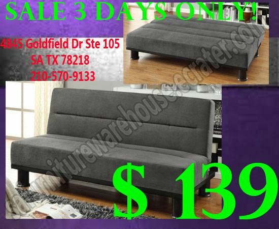 Great Quality New Sofa BedAFTER DISCOUNT - $139 (San Antonio)