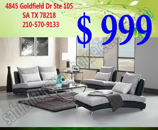 Sofas, Fabric AFFORDABLE and QUALITY PIECES - $999 (San Antonio)