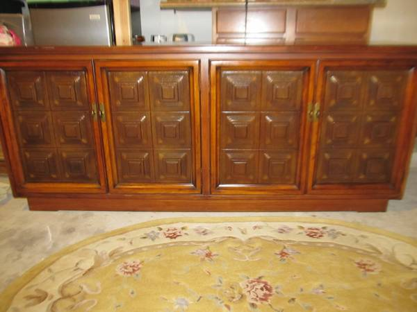 Wooden BuffetSideboard Console with great storage - $200 (NW SA off Guilbeau near Bandera Rd)
