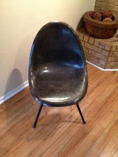 Mid Century Herman Miller Style Shell Chair for Sale - $30 (Northwest San Antonio)