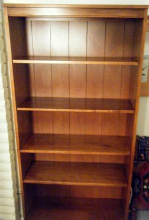 Ethan Allen Shelving Unit (NE - Live Oak)