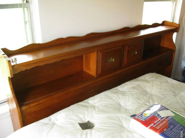 Antique King Size Headboard - $1 (Hollywood Park)