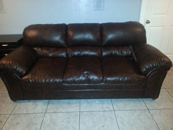 Couch and chair, dry bar, BBQ pit (Weber) - $550 (Ingram)