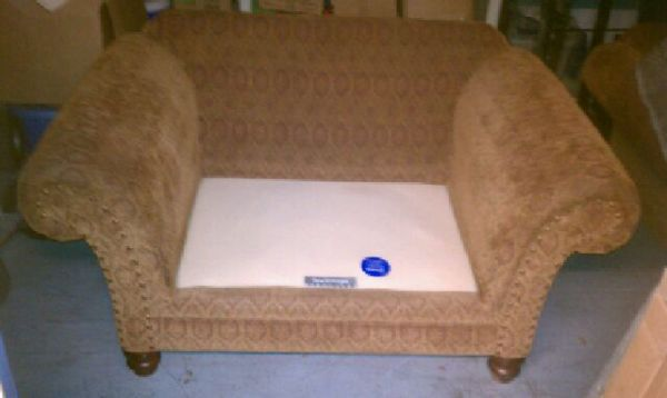 New vintage Bernhardt couch and chair - $175 (Northeast)