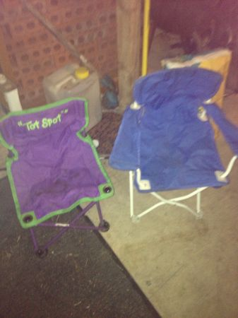 Childs Tot Spot Chairs - $6 (Converse)