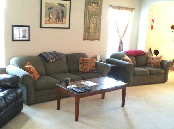 Couch and Loveseat - Matching Set - $225 (Potranco and 1604)