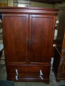 TV Armoire - Brand New - Louis Phillipe Cherry WOOD (reg. $800) - $399 (SA, Central)