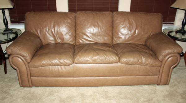 Ethan Allen Leather Furniture - $2750 (Sea World)