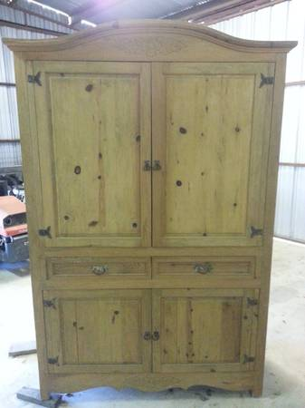 97339733Reduced Entertainment Center Armoire for big screen TV (N. of Pleasanton)
