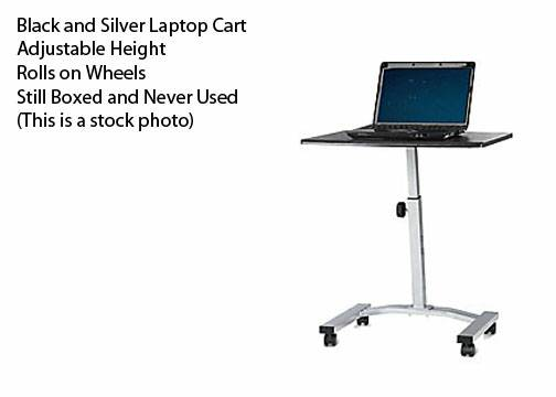 Brand new sealed adjustable Stand on wheels (laptop stand) - $20 (Cibolo)