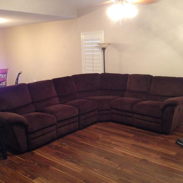 $995, Lazy Boy Sectional Sofa with built in Recliners, VERY NICE