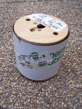 Romex Brand 62 with Ground 125ft New on Spool - $115 (Bulverde)