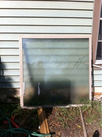 48x48 Bathroom Window  - $40 (South San Antonio)