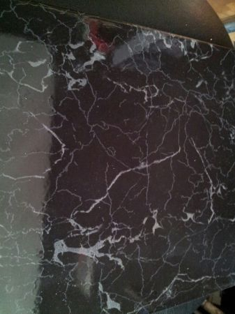 flooring black tile
