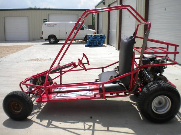 Yerf Dog Red 2 Seat Go Kart Cart Front  Rear Suspension Ready to Ride - $750 (NE SA 1516 Converse)