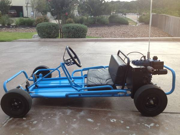 Go Kart - 3.5horse two seater - $375 (Helotes, TX)