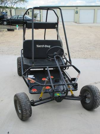 Black Yerf Dog 2 Seater Go KartCart 6HP - $750 (Converse)