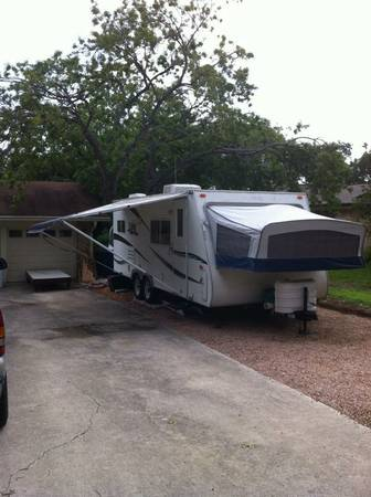 Aero Cub 24 Hybrid Travel Trailer - $9950 (Babcock1604)