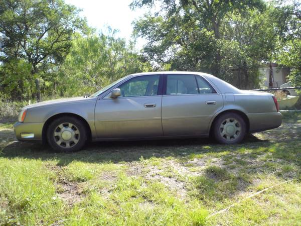 TRADE MY 2000 CADLLAC DEVILLE FOR MOTORHOME