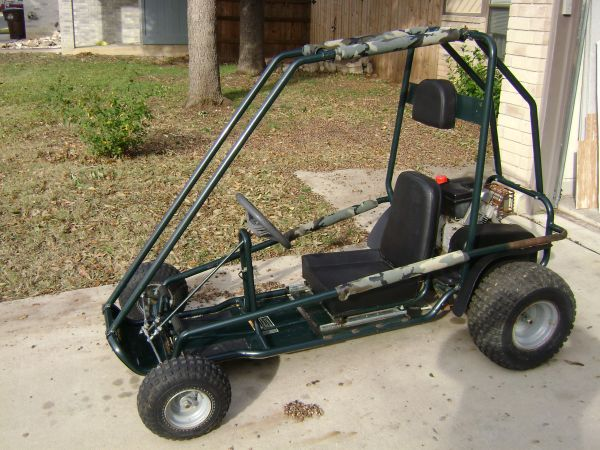 Awesome Murray Go KartCart Big Back Tires Roll Cage 6hp Ready to Ride - $600 (NE SA)