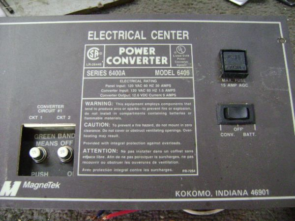 POWER CONVERTER FOR RV - $100 (LEMING, TEXAS)