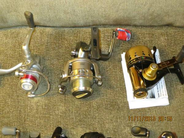 fishing Combos and Reels (New Braunfels)