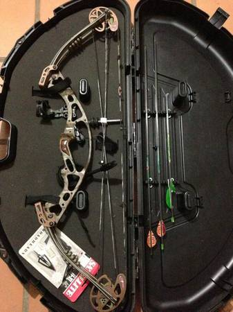 Hoyt xt2000 compound bow (obo) - $320 (San Antonio)