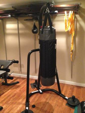 speed bag  punching bag combo - $230 (Olmos Park)