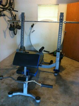 WEIGHT BENCH Everlast Boxing - $1 (Alon )