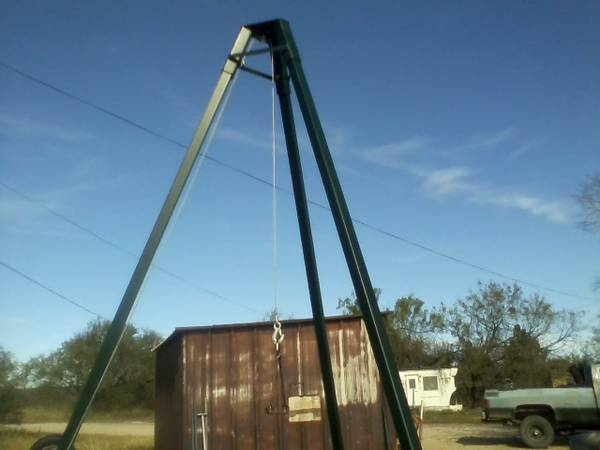 hunting equipment for the deer lease (marble falls)
