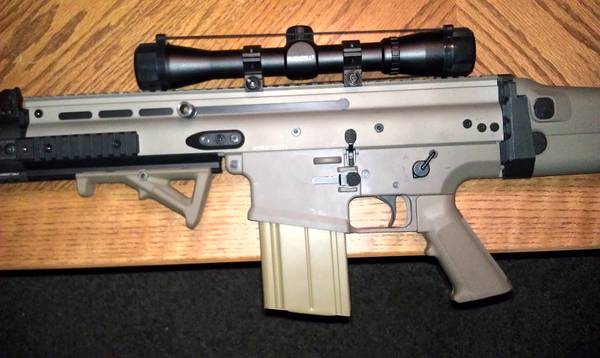 airsoft scar-H sniper new - $300