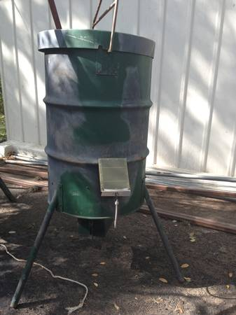 2 - HEAVY DUTY 55 GAL FEEDERS - $275